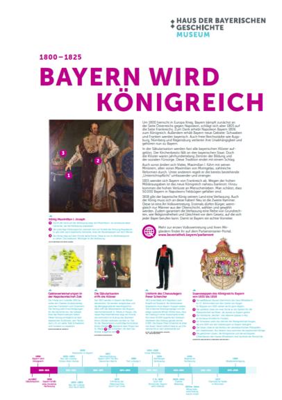 Bayern wird Königreich