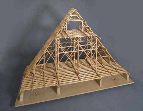 Dachstuhlmodell der Münchner Frauenkirche