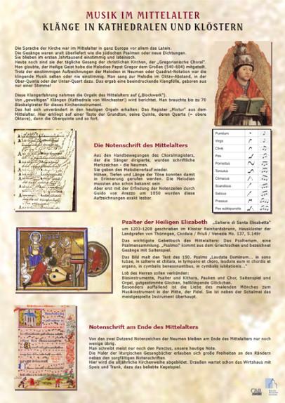 Musik im Mittelalter - VERGRIFFEN (nur CD noch lieferbar!)