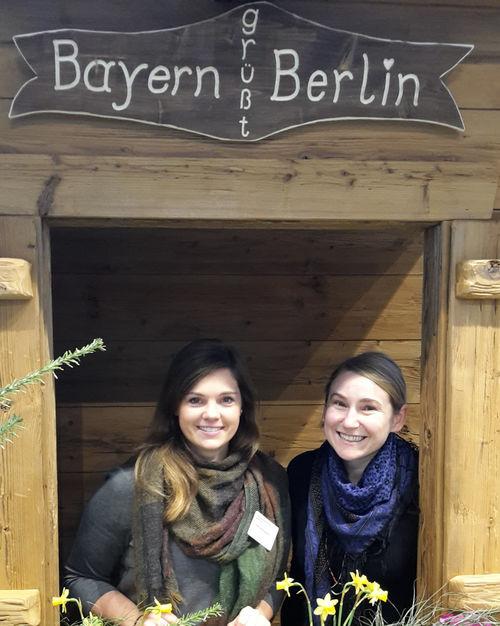 Ruth Wehning und Christine Ketzer vom HdBG