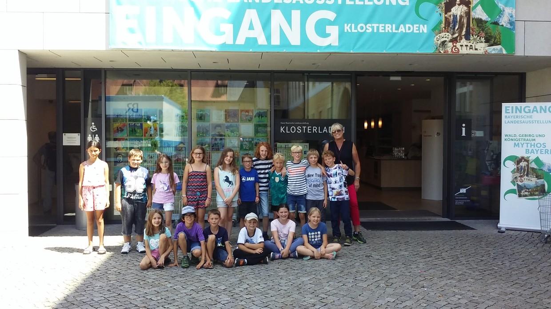 Klasse 3a Grundschule Ebelsbach, Lehrerin Ingrid Müller