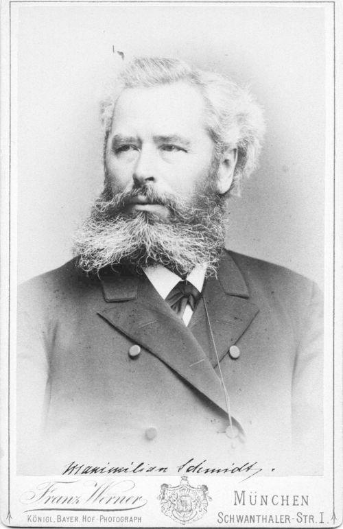 Portrait von Maximilian Schmidt genannt Waldschmidt