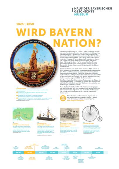 Bayern wird Nation