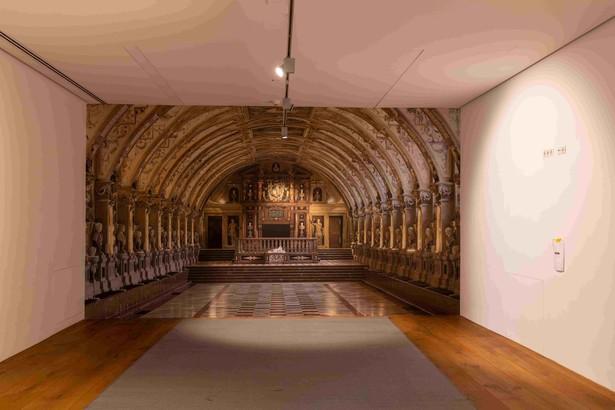 Die Nachbildung des Antiquariums der Münchner Residenz wird noch mit Städteansichten bestückt werden. © Haus der Bayerischen Geschichte | Foto: Herbert Rath