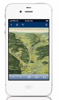 Auf ihren mobilen Endgeräten können sich die Nutzer interessante historische Abbildungen aus der bayerischen Geschichte ansehen, die momentan so in keiner anderen Publikation zur Verfügung stehen.