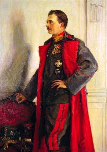 Wilhelm Victor Krausz, Kaiser Karl I. von Österreich, 1917 Heeresgeschichtliches Museum / Militärhistorisches Institut, Wien © Heeresgeschichtliches Museum, Wien