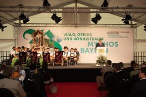 Dr. Richard Loibl führt in die Inhalte der Bayerischen Landesausstellung ein