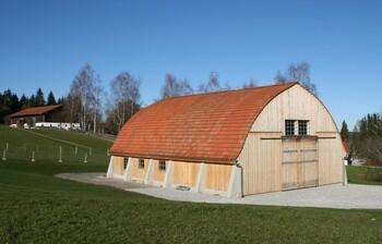 Zollinger Halle im Freilichtmuseum Glentleiten