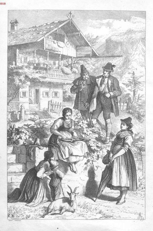 Bavaria, Landes- und Volkskunde des Königsreichs Bayern, 1860/1866