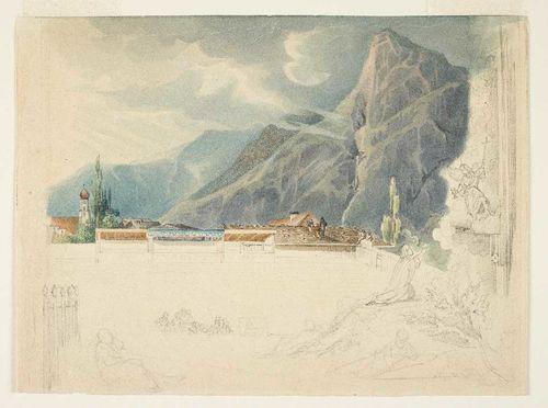 Eugen Adam, Oberammergauer Passionstheater, 1840