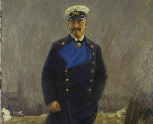 Hans Olde, Portrait Kaiser Wilhelm II., 1915 © Stiftung Historische Museen Hamburg / Museum für Hamburgische Geschichte (Dauerleihgabe der Handelskammer Hamburg)
