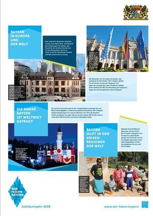 Plakatserie 100 Jahre Freistaat Bayern, 200 Jahre Verfassungsstaat, 4
