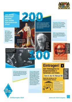100 Jahre Freistaat Bayern, 200 Jahre Verfassungsstaat, 2