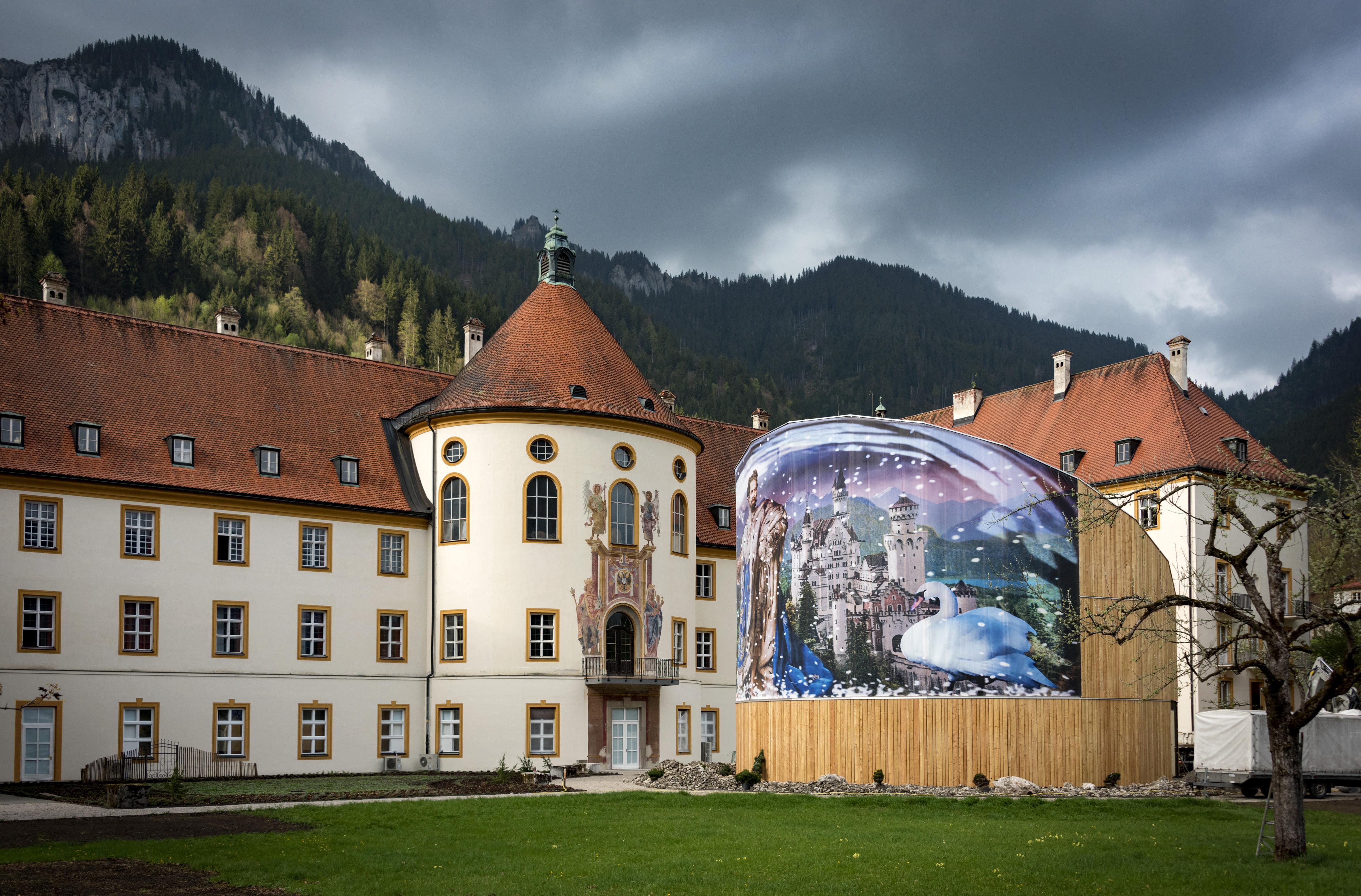Holzpavillon im Ettaler Klostergarten © Gabriele Meyer-Brühl / Thöner von Wolffersdorff GbR