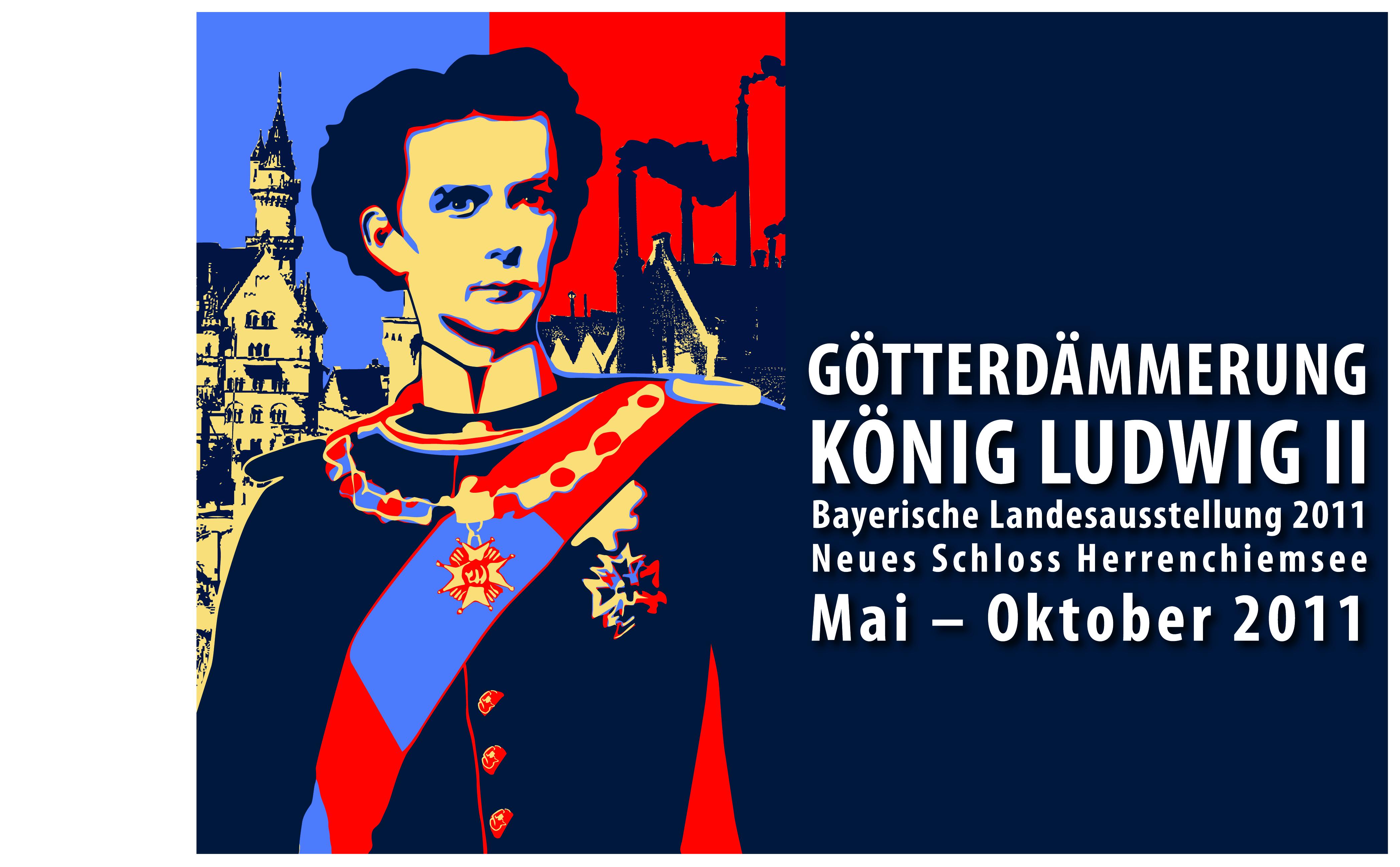 Plakat zur Bayerischen Landesausstellung 2011 © Haus der Bayerischen Geschichte | Entwurf: Grafikbüro Wilhelm