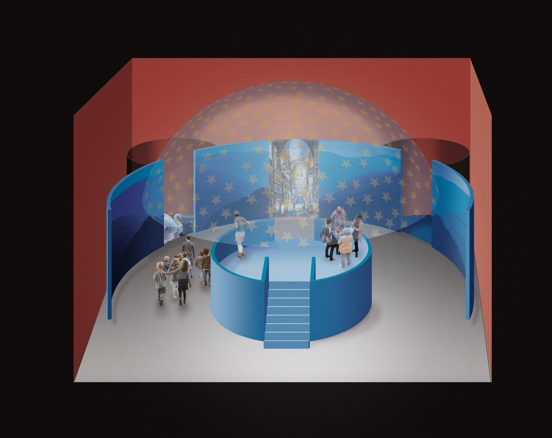 Gestaltung der Ausstellungsarchitektur und Bühnenbilder für die Bayerische Landesausstellung 2011 © graficde'sign pürstinger, Salzburg