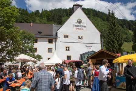 Ettaler Klosterfest 16. Juli 2017