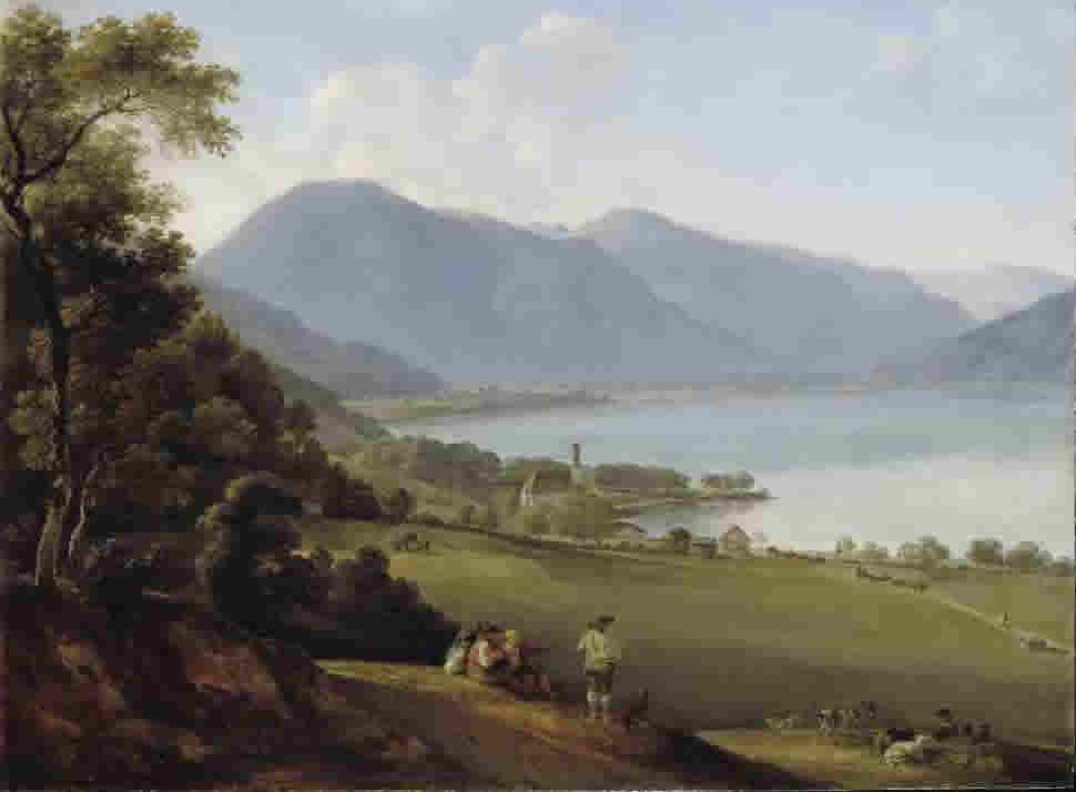 Johann Georg von Dillis, Der Tegernsee, 1825