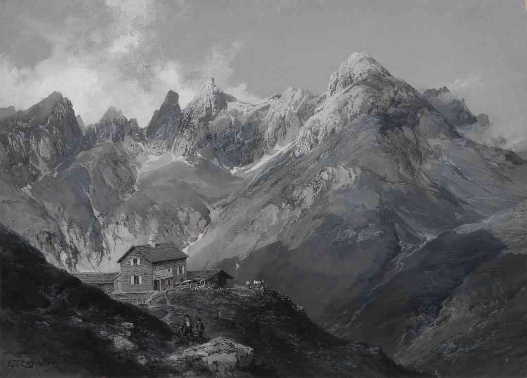 Edward Theodore Compton, Kemptner Hütte, 1891/92
