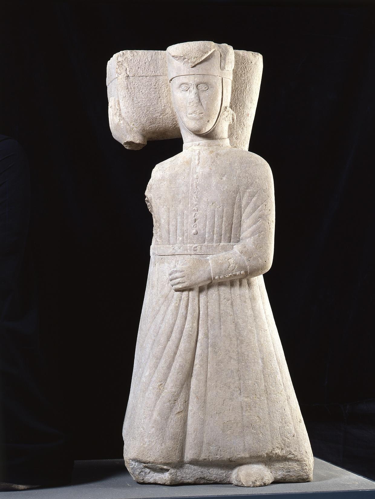 Telamon, 13. Jahrhundert, Musei di Brescia © Archivio fotografico Musei di Brescia-Fotostudio Rapuzzi