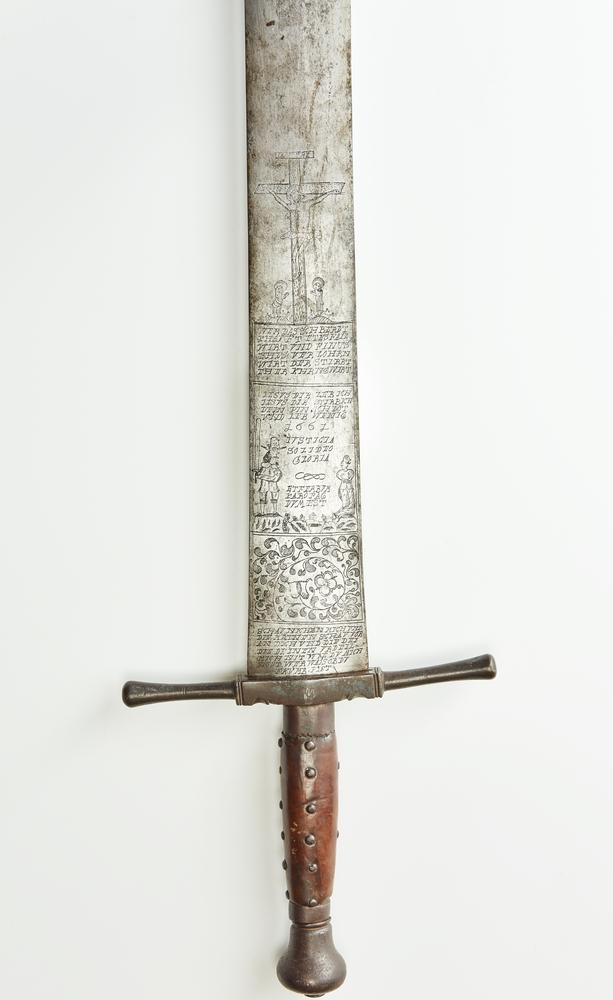 Executioner's sword, 1667, Gäubodenmuseum Straubing ©Haus der Bayerischen Geschichte, Augsburg | Photo: Manfred Bernhard